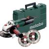 Metabo Haakse slijper W 9-125 Quick SET