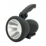 Werklamp prof led 1W oplaadbaar zwart