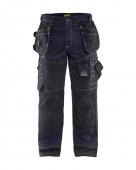 Blaklader werkbroek x1500  marineblauw/zwart