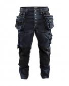 Blaklader werkbroek x1900  marineblauw/zwart