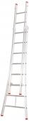 Industriële 2-delige ladder, OCB gekeurd